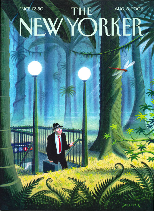 The New Yorker cover, par Eric Drooker