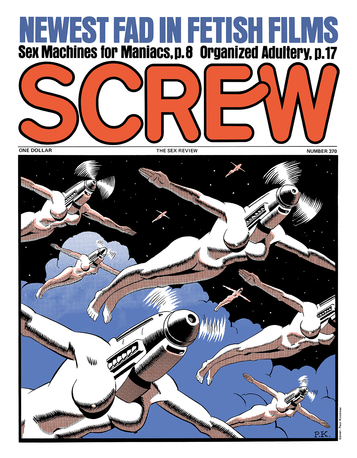 Screw magazine, par Paul Kirchner