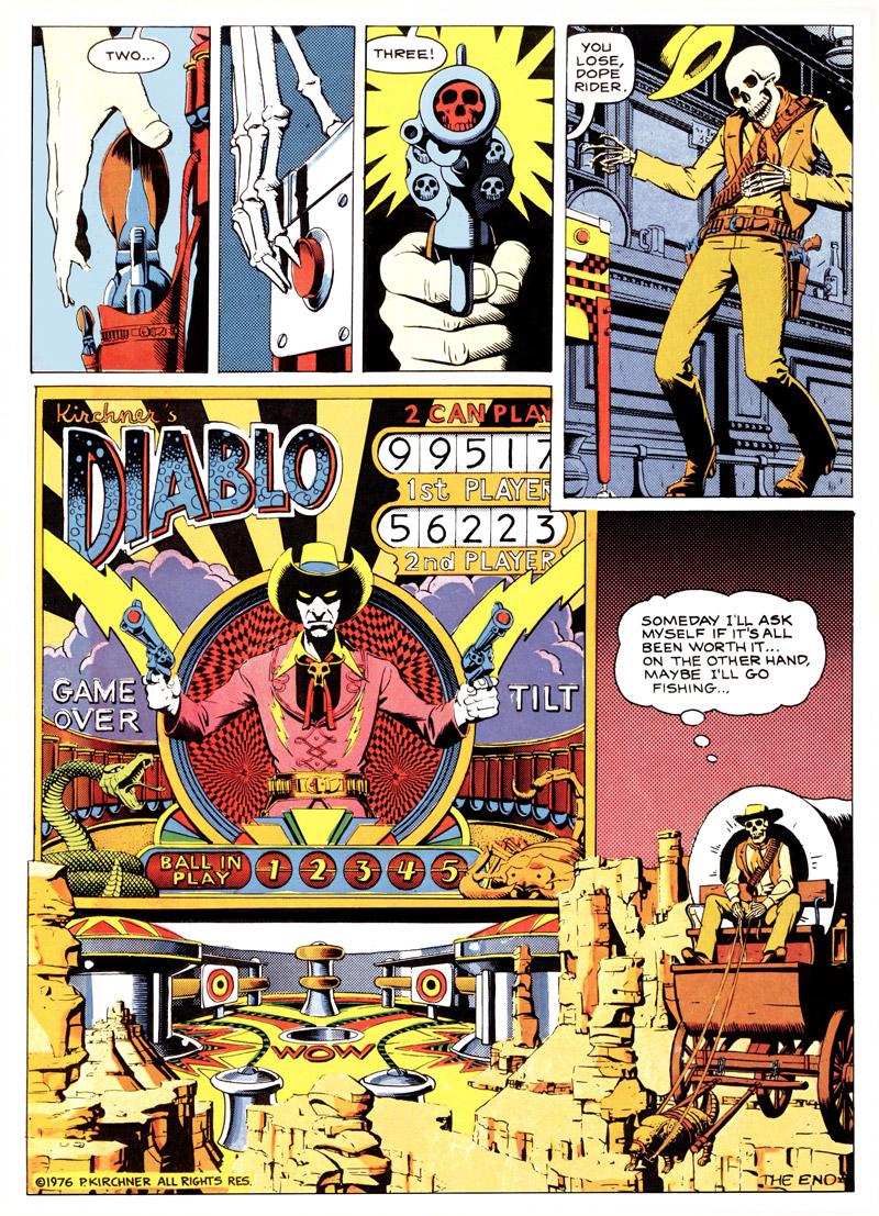 Dope Rider, Taco Belle, par Paul Kirchner