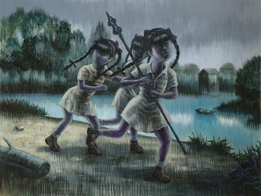 Peinture de Lucas Varela