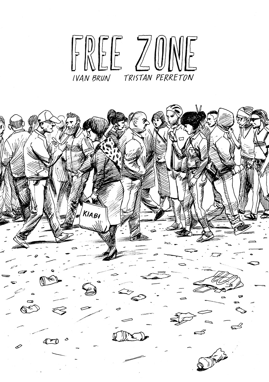 Free Zone, couverture