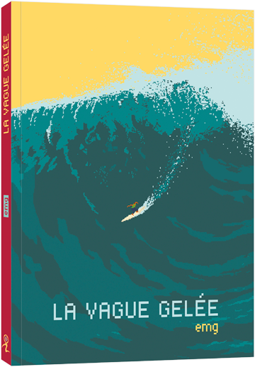 La vague gelée, couverture
