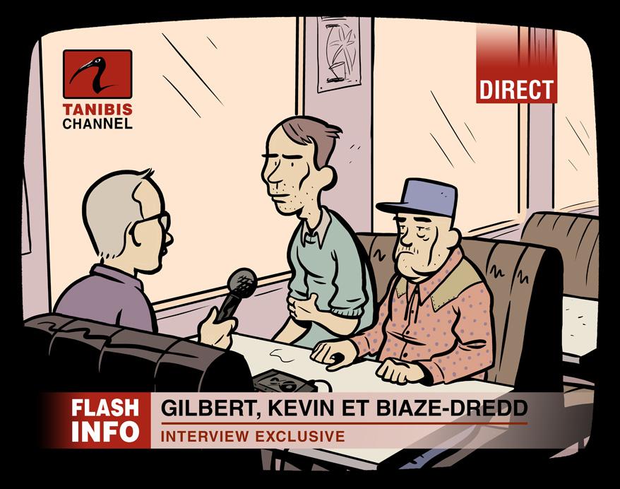 Gilbert, Kevin et Biaze Dredd