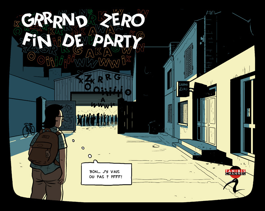 Grrrnd Zero fin de party